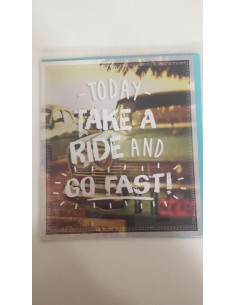 Cards&Envelopes_Today take a ride and go fast