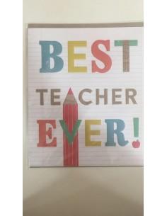 Cards&Envelopes_Best teacher Ever!