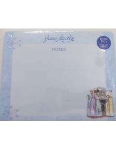 Jane Austen Notes Desk pad