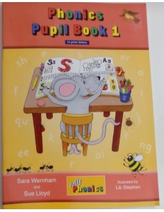 Phonics Pupil Book 1 Jolly Phonics