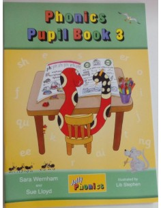 Phonics Pupil Book 3 Jolly Phonics