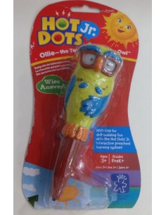 Educational Insights Hot Dots Jr. Ollie - The Talking, Teaching Owl Pen