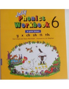 Workbook 6 Jolly Phonics