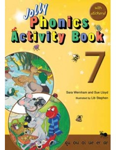 Jolly Phonics Activity Book 7  qu, ou, oi, ue, er, ar