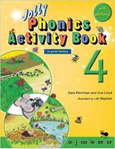 Jolly Phonics Activity Book 4  ai, j, oa, ie, ee, or