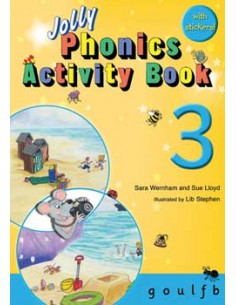 Jolly Phonics Activity Book 3  g, o, u, l, f, b