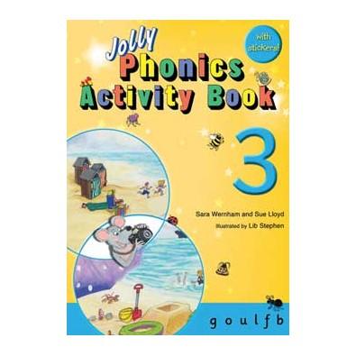 Jolly Phonics Activity Book 3  g, o, u, l, f, b