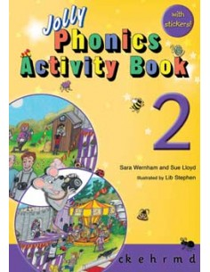 Jolly Phonics Activity Book 2     c k, e, h, r, m, d