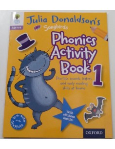 Phonics Activity book 1 Julia Donaldson's Oxford Reading Tree