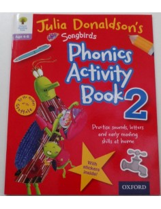 Phonics Activity book 2 Julia Donaldson's Oxford Reading Tree