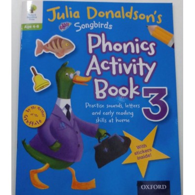Phonics Activity book 3 Julia Donaldson's Oxford Reading Tree