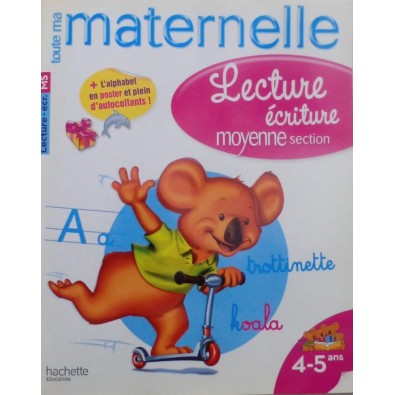 Lecture écriture moyenne section