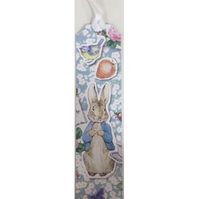 Petter Rabbit, Beatrix Potter, bookmark