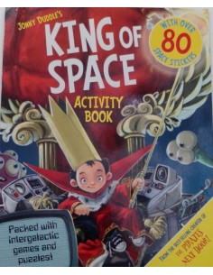 King of Space Activity Book 80 stickers