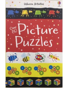Usborne Activities Picture Puzzles Over 80