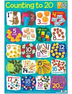 Counting to 20 poster
