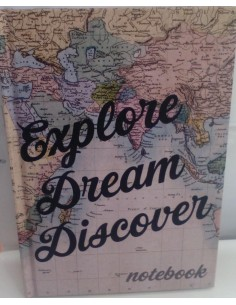 Notebook  EXPLORE DREAM DISCOVER