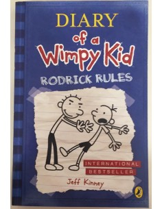 Diary of a Wimpy Kid_Rodrick Rules_Jeff Kinney
