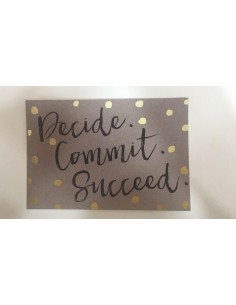 Potscards Decide. Commit. Succeed.